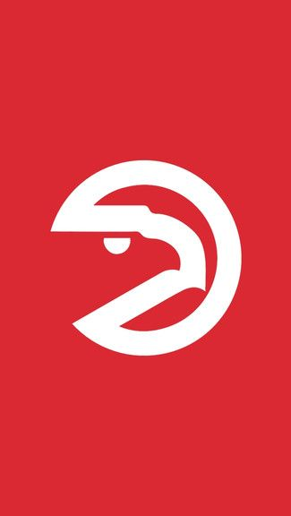 Atlanta Hawks Logo - Atlanta Hawks iPhone Logo Wallpaper | Atlanta Hawks Themes ...
