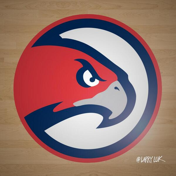 Atlanta Hawks Logo - Atlanta Hawks New Logo? - Peachtree Hoops