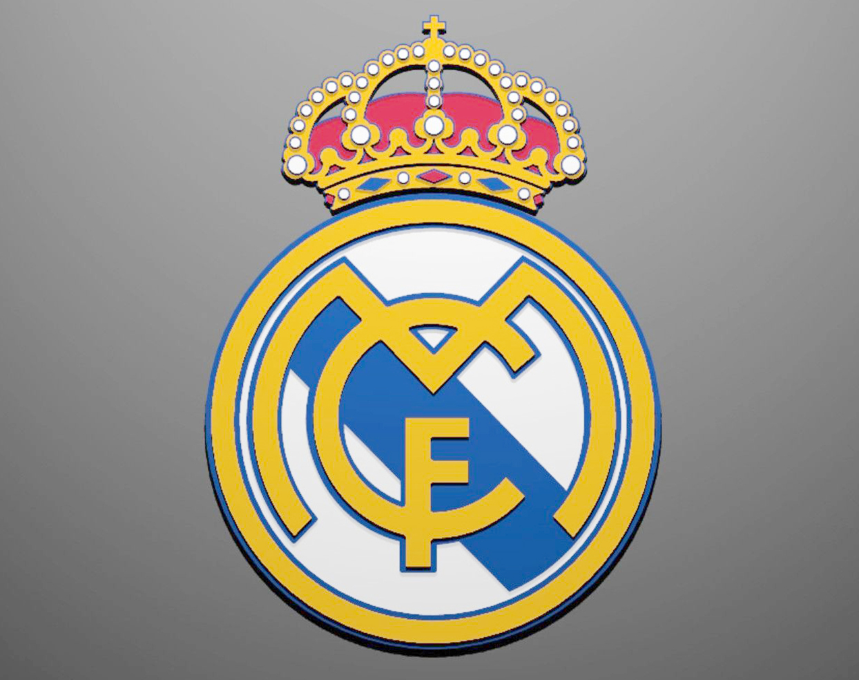 Real Madrid Logo - Color-Real-Madrid-Logo — Leadership Hausa Newspapers