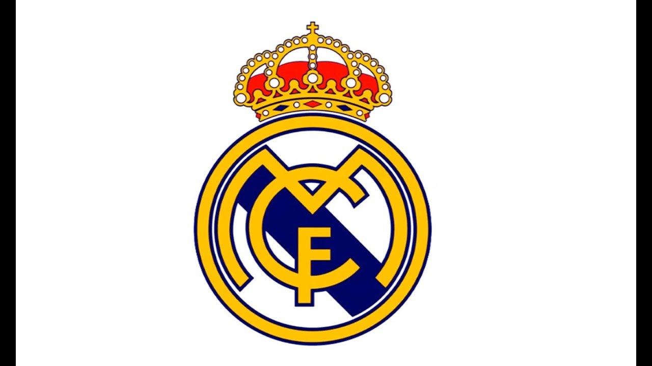 Real Madrid Logo - How to Draw the Real Madrid Logo (CF) - YouTube