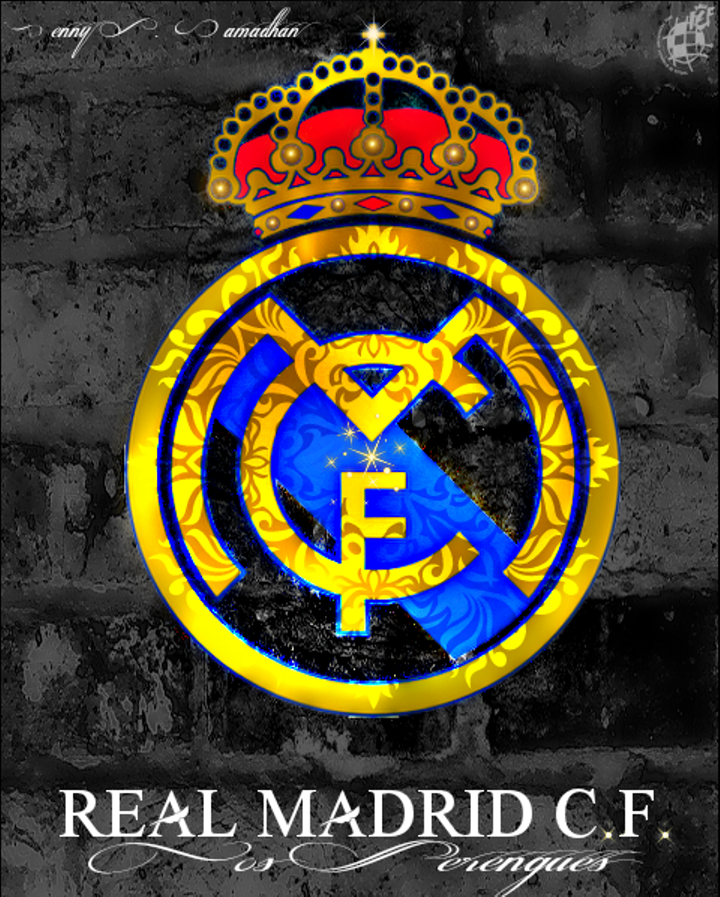 Real Madrid Logo - real madrid logo - Image by ㅤㅤDenny S. Ramadhan