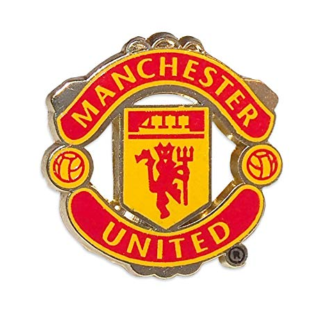 Manchester United Logo - Amazon.com : Manchester United Pin Logo : Sports Related ...