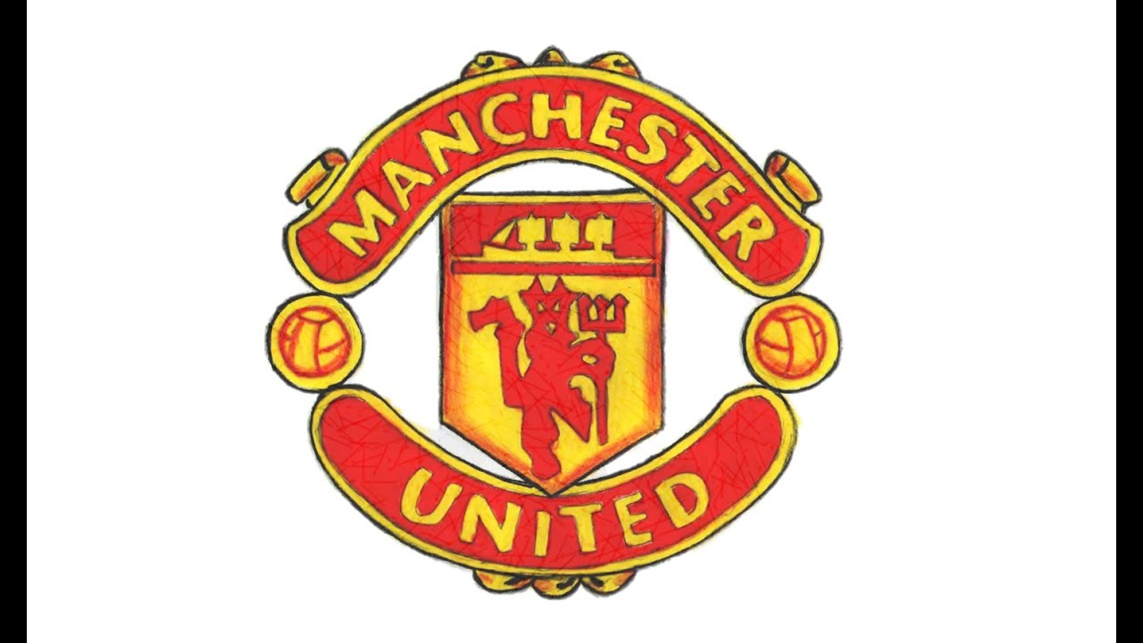 Manchester United Logo - How to Draw the Manchester United Logo (FC) - YouTube