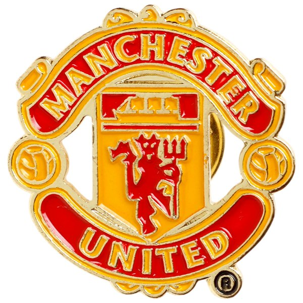 Manchester United Logo - Manchester United Team Badge Logo Pin | United Direct