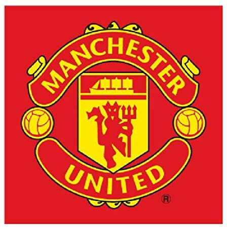 Manchester United Logo - Manchester United Logo Red Face Cloth Towel Flannel: Amazon.co.uk ...