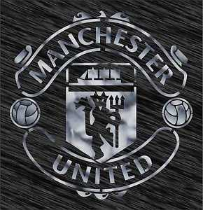 Manchester United Logo - Stencil Manchester United logo Football Reusable Pattern Wall Art ...