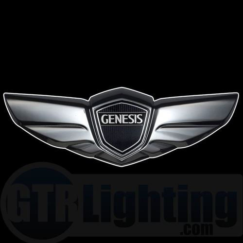 Genesis Logo - GTR Lighting LED Logo Projectors, Hyundai Genesis Logo, #62