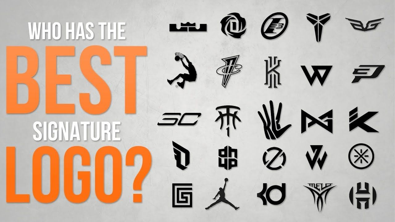 Famous Shoe Brand Logo - Top 10 Best Basketball Signature Sneaker Logos of ALL-TIME - YouTube