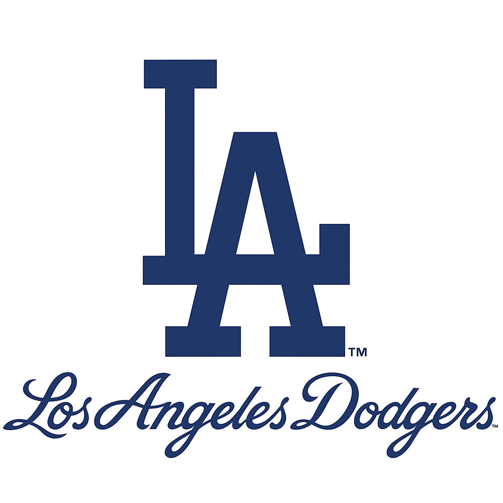 Los Angeles Dodgers Logo - Los Angeles Dodgers Decal 4in x 3in | Party City