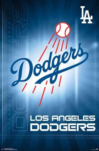 Los Angeles Dodgers Logo - Los Angeles Dodgers- Logo 2016 Posters at AllPosters.com
