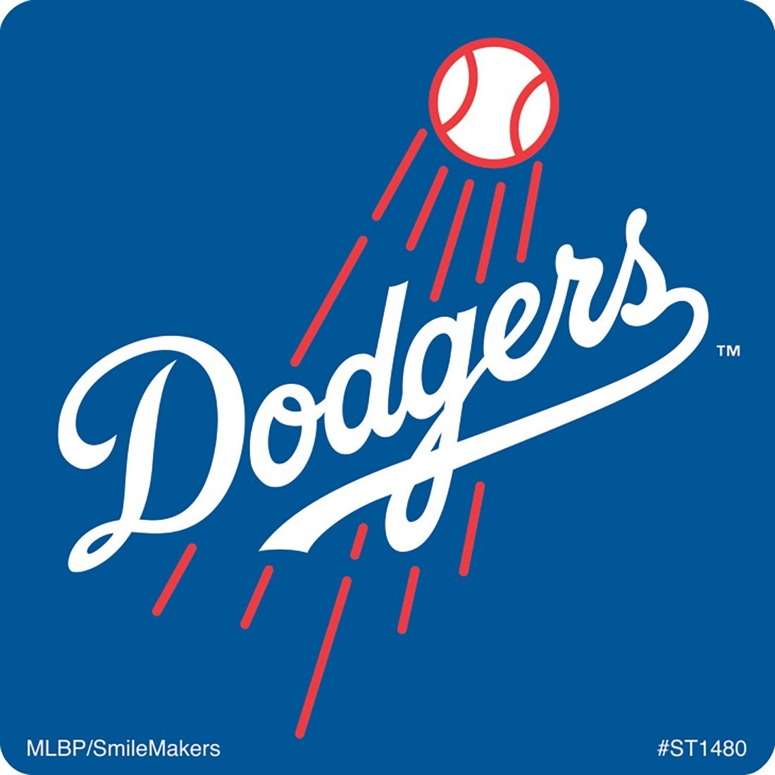 Los Angeles Dodgers Logo - Los Angeles Dodgers Logo Stickers - Stickers from SmileMakers