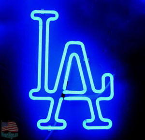Los Angeles Dodgers Logo - Los Angeles Dodgers Logo Neon Sign 20