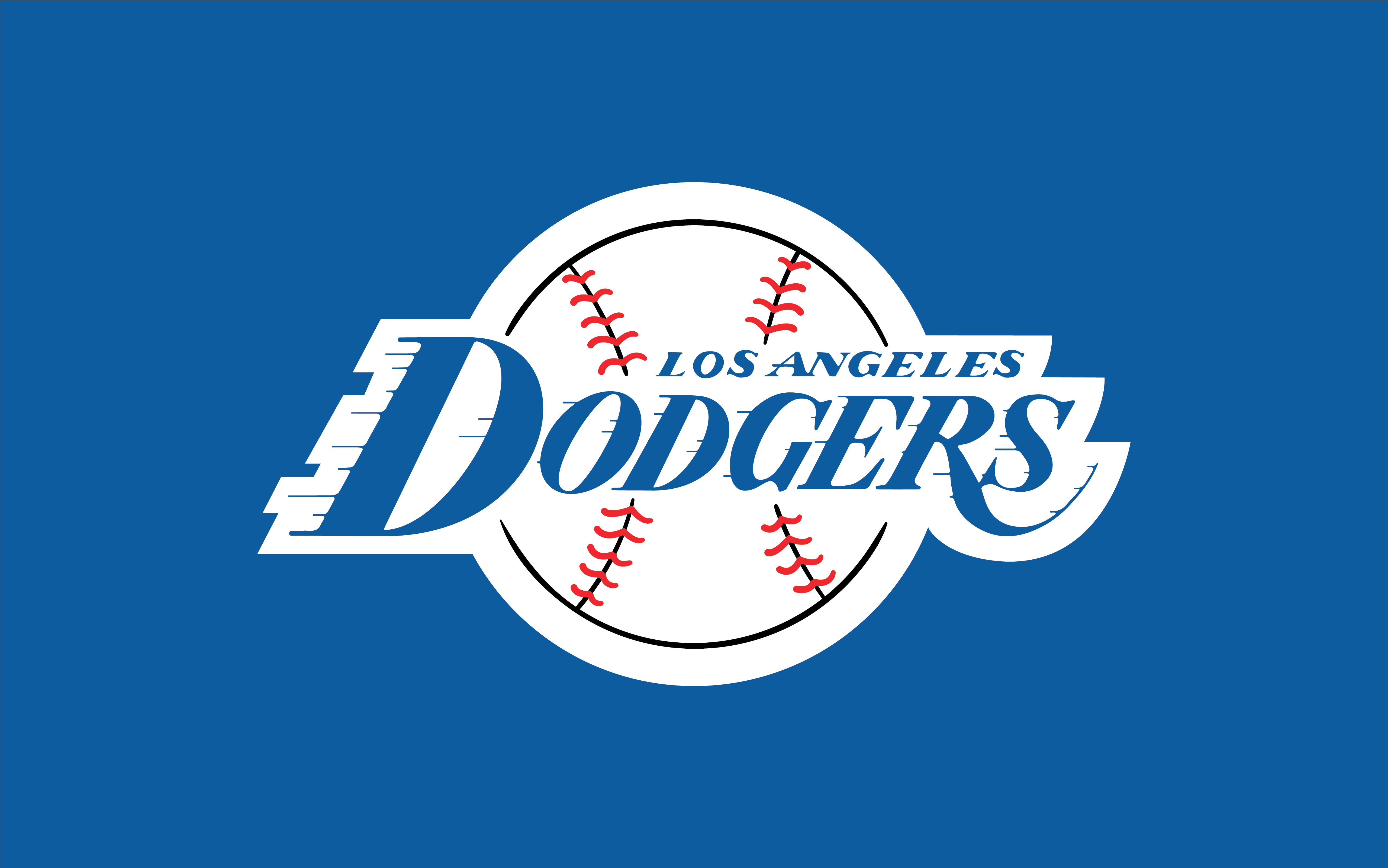 Los Angeles Dodgers Logo - I made Los Angeles Dodgers in the style of the Lakers logo : Dodgers