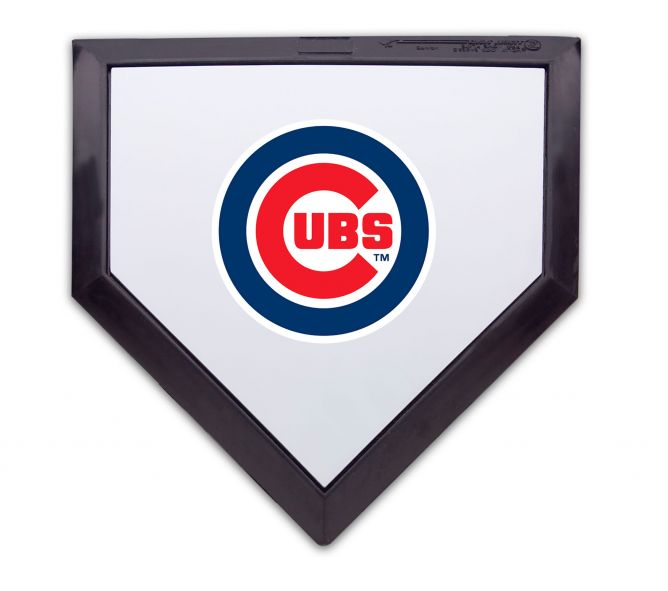 Chicago Cubs Logo - Chicago Cubs Homeplate | Schutt Store