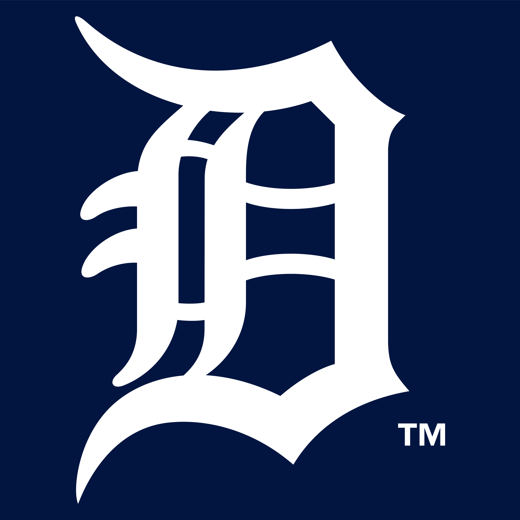 Detroit Tigers Logo - File:Detroit Tigers Insignia.svg - Wikimedia Commons