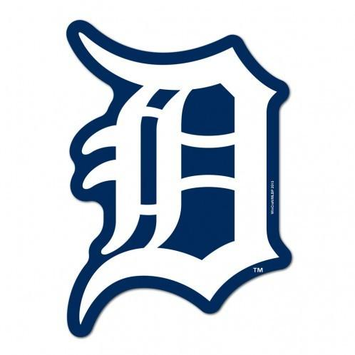 Detroit Tigers Logo - MLB Detroit Tigers Logo on the Gogo Grille Decal – SportsManiaUSA.com