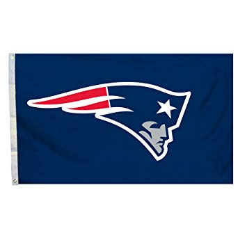 New England Patriots Logo - Amazon.com : NFL New England Patriots Logo Flag with Grommets, 3 x 5 ...