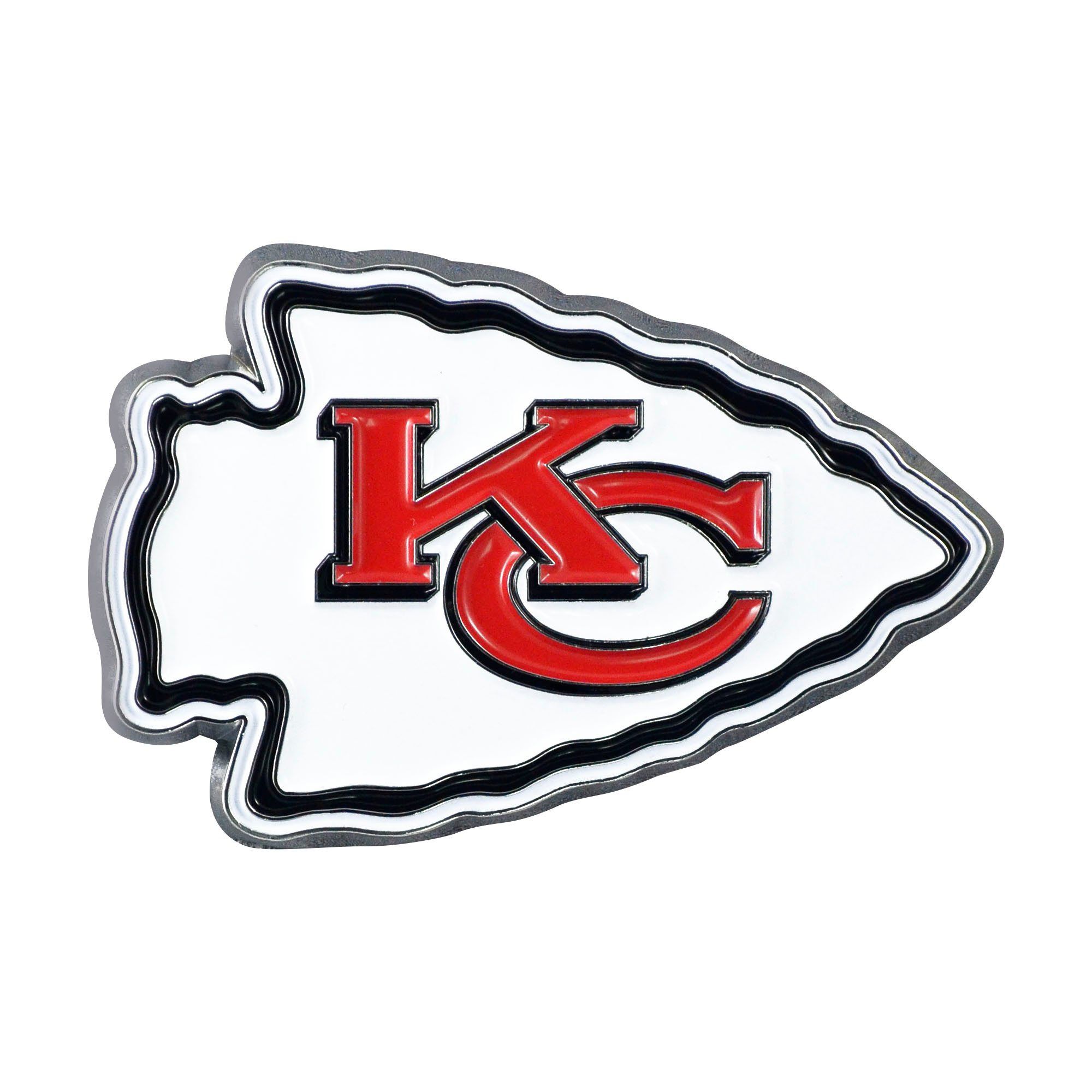 Kansas City Chiefs Logo - Fan Mat 22572 Emblem NFL Kansas City Chiefs Logo; Painted; Heavy ...