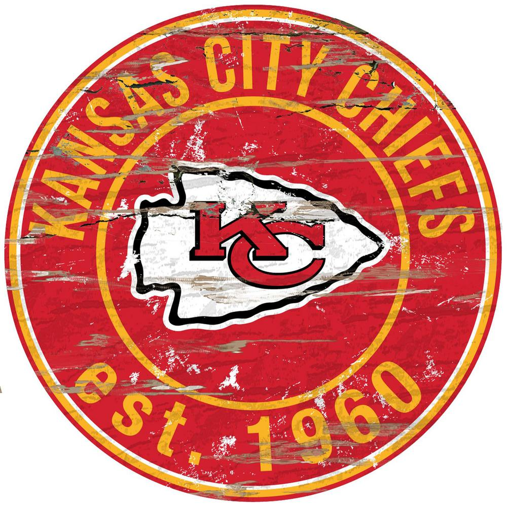 Kansas City Chiefs Logo - Adventure Furniture 24