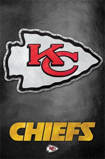 Kansas City Chiefs Logo - Kansas City Chiefs - Logo NFL Sports Poster Posters at AllPosters.com