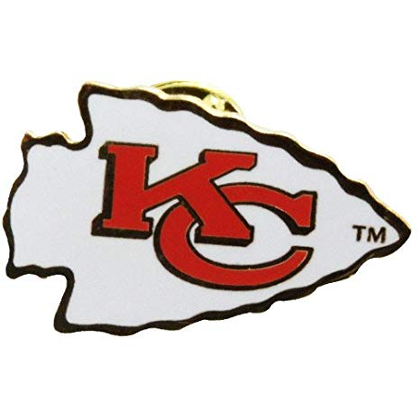 Kansas City Chiefs Logo - Amazon.com : NFL Kansas City Chiefs Logo Pin : Sports Related Pins ...
