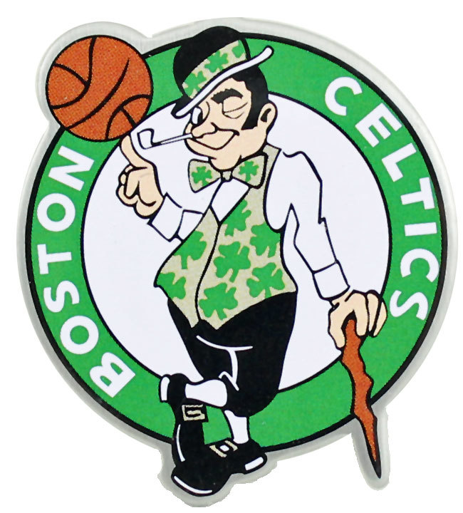 Boston Celtics Logo - Boston Celtics Logo Pin