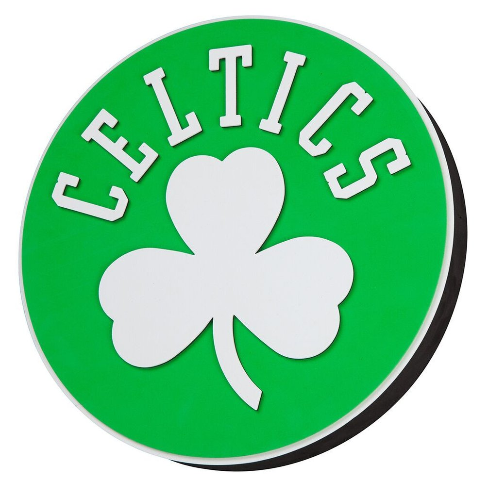 Boston Celtics Logo - Boston Celtics 3D Fan Foam Logo Sign