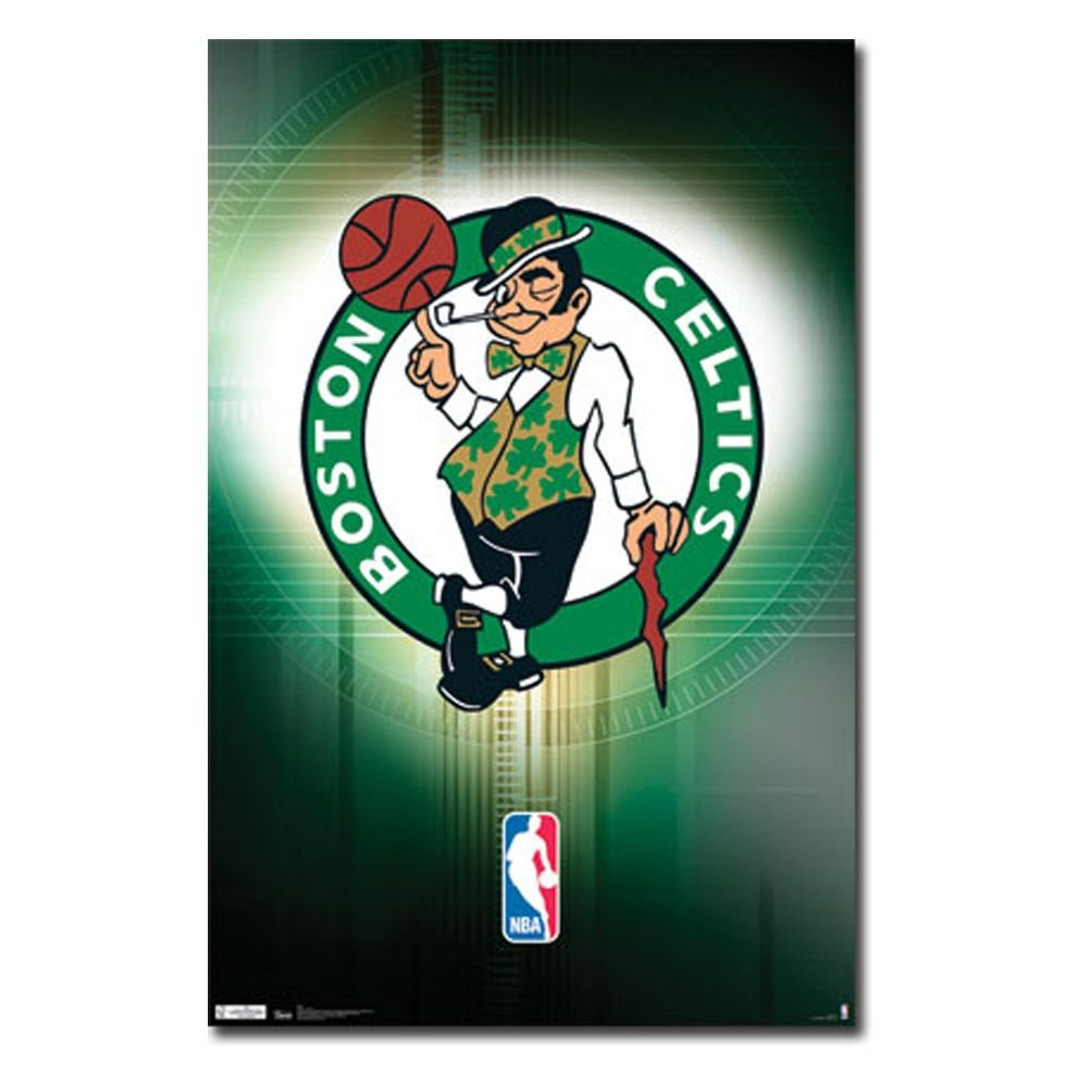 Boston Celtics Logo - Boston Celtics Logo 11 Wall Poster
