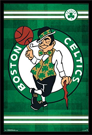 Boston Celtics Logo - Amazon.com: Trends International Wall Poster Boston Celtics Logo ...