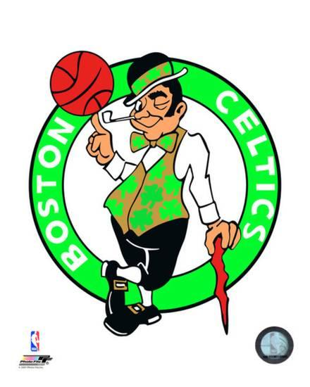 Boston Celtics Logo - Boston Celtics Logo Photo at AllPosters.com