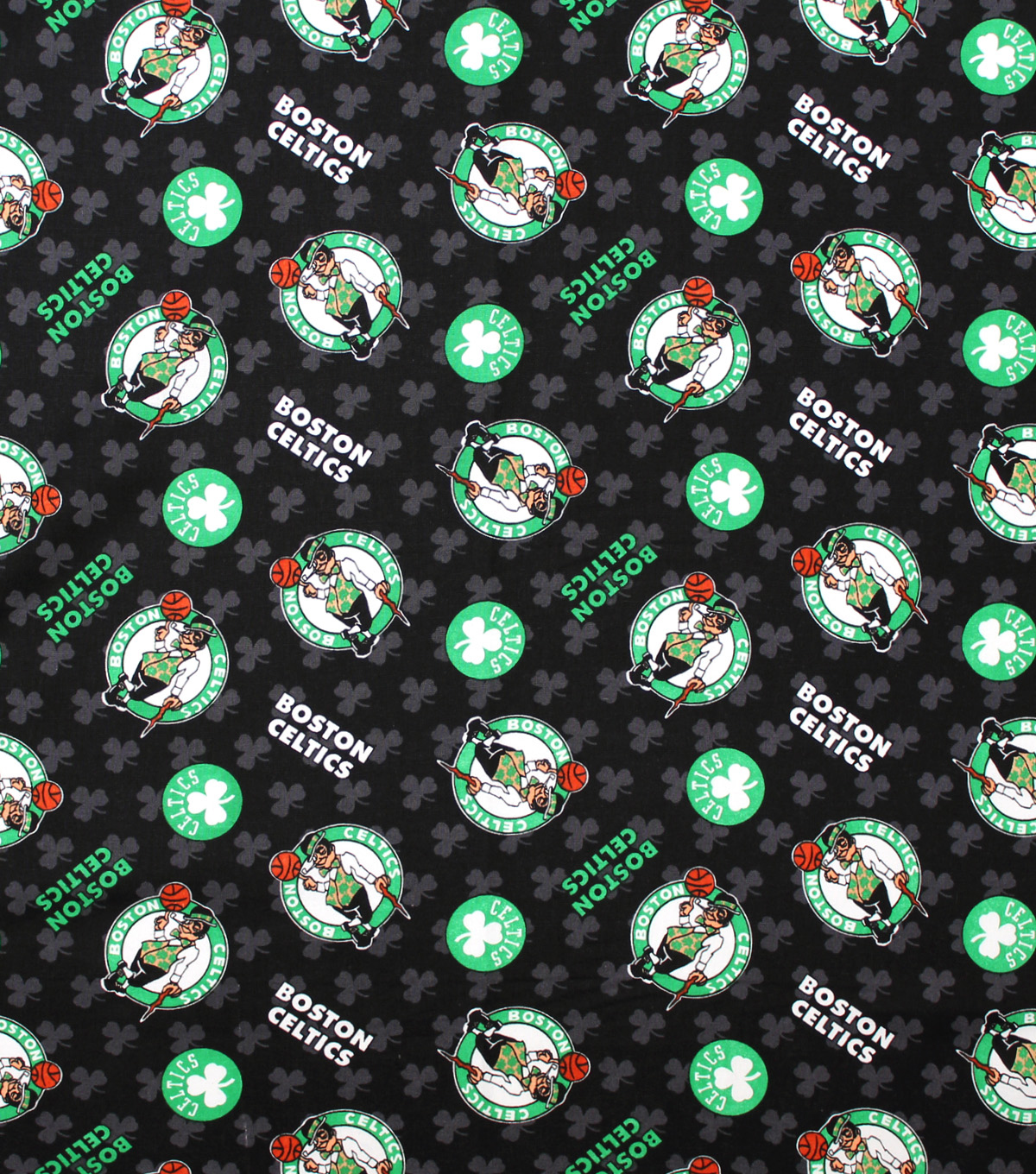 Boston Celtics Logo - Boston Celtics Cotton Fabric | JOANN
