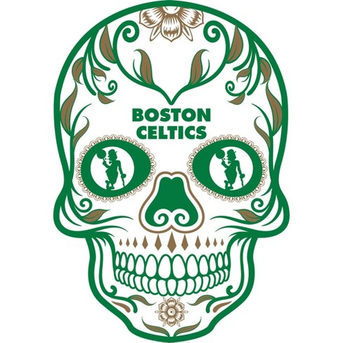 Boston Celtics Logo - NBA Boston Celtics Large Outdoor Skull Decal : Target