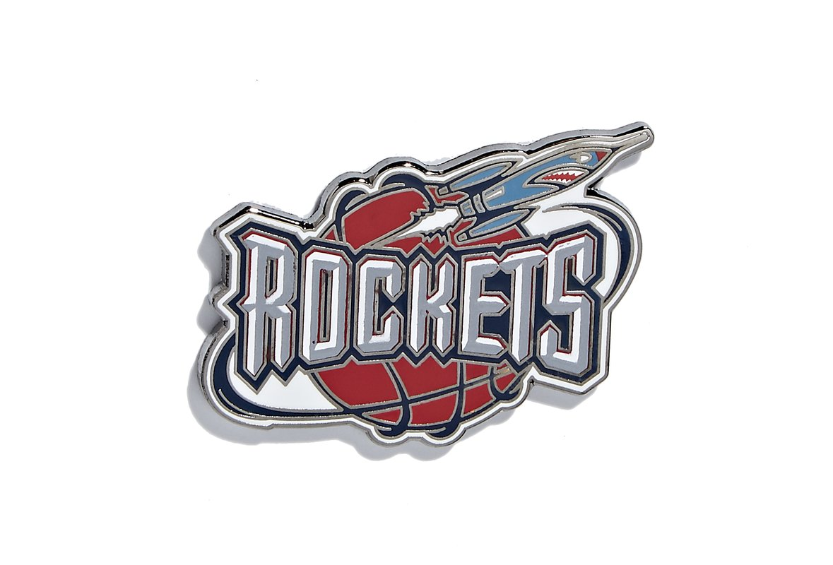 Houston Rockets Logo - NBALAB - Houston Rockets Logo Pin – PINTRILL