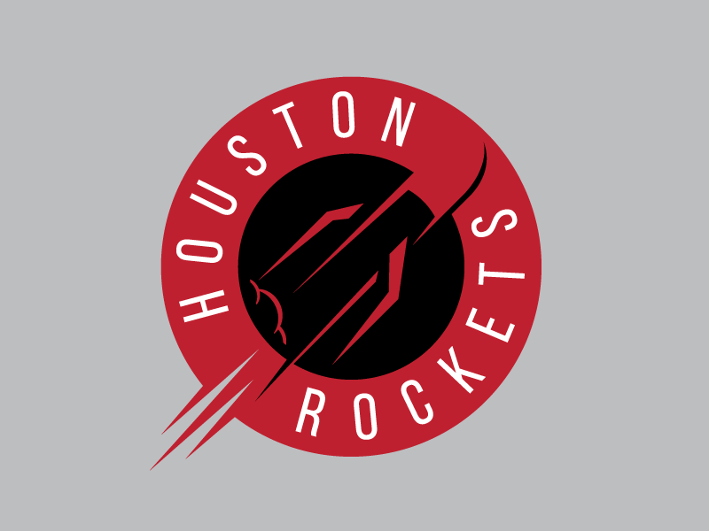Houston Rockets Logo - Houston Rockets Logo Concept by Sean McCarthy | Dribbble | Dribbble