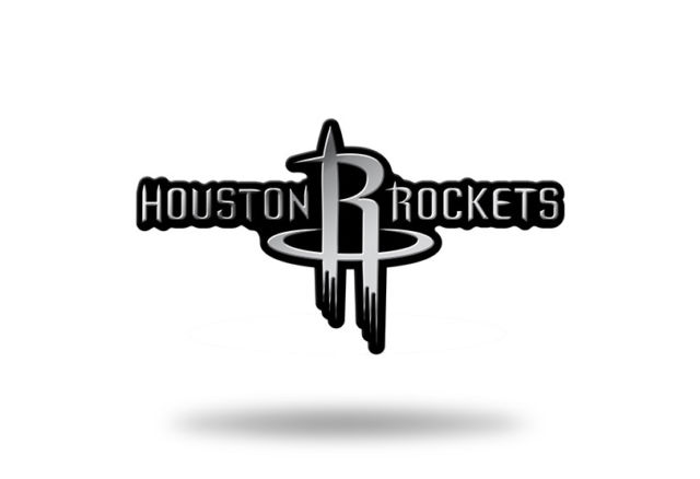 Houston Rockets Logo - Houston Rockets Logo 3d Chrome Auto Decal Sticker Truck Car Rico 2x4 ...