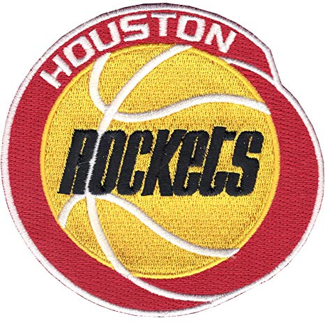 Houston Rockets Logo - Amazon.com : Houston Rockets Throwback Era Logo Patch : Applique ...
