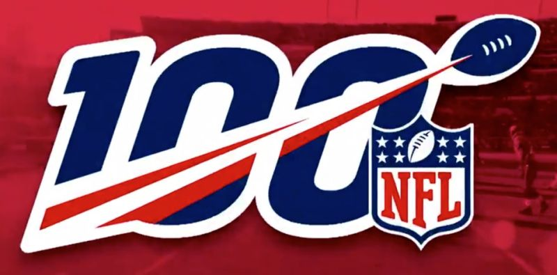 NFL Logo - NFL unveils 100th season logo