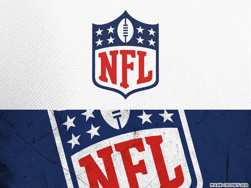 NFL Logo - All NFL Logos Redesigned on Behance