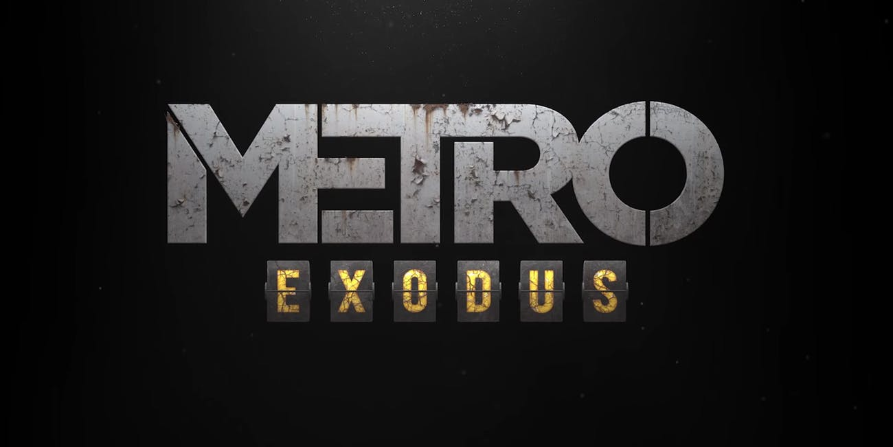 Metro Exodus Logo - Metro Exodus': Release Date, Open-world Gameplay & Everything Else ...