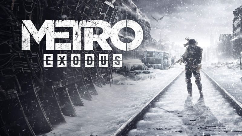 Metro Exodus Logo - Metro Exodus: A beautiful, brutal single-player game—with insane RTX ...