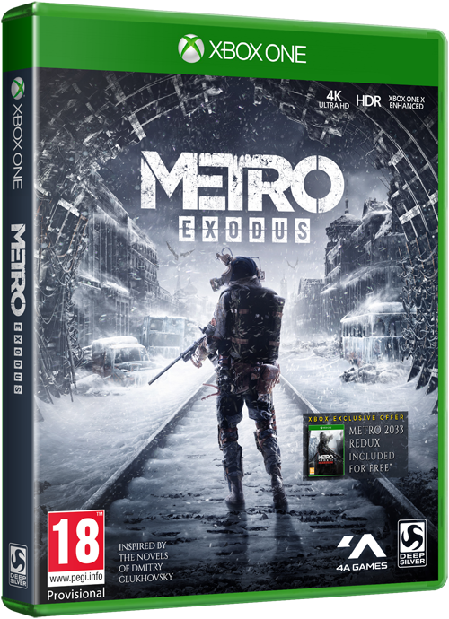 Metro Exodus Logo - Metro Exodus | Story driven first person shooter from 4A Games
