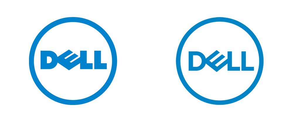 Dell Logo - Brand New: New Logos for Dell, Dell Technologies, and Dell EMC by ...