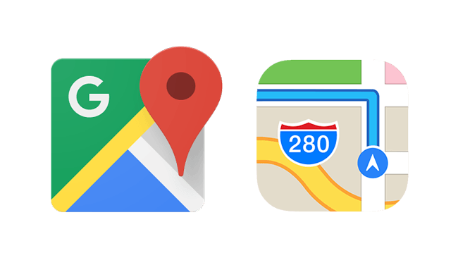 Google Maps App Logo - How to Delete Location and Search History in Maps App