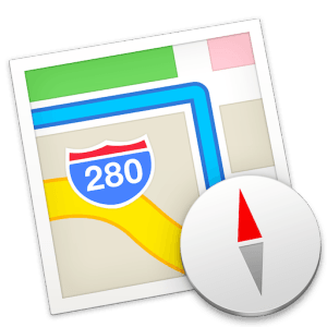 Google Maps App Logo - Show Traffic & Road Incidents in Maps App for OS X Mavericks