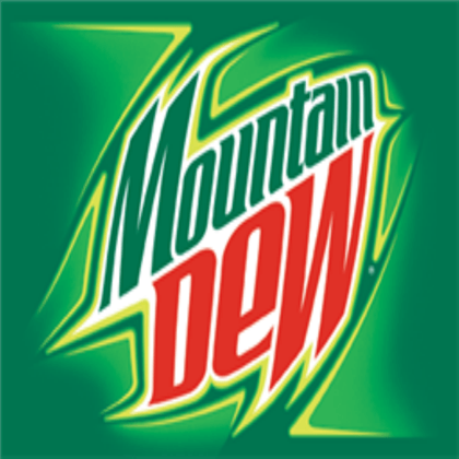 Mountain Dew Logo - Mountain Dew Logo - Roblox