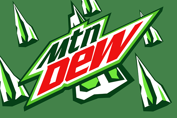 Mountain Dew Logo - Mountain Dew Logo on Behance