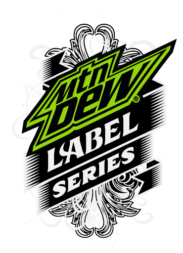 Mountain Dew Logo - MTN DEW LABEL SERIES
