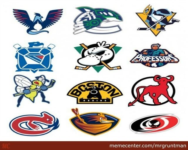Cool Hockey Team Logo - Nhl Hockey Team's Logos Redesigned As Pokemon. Can You Guess Them ...