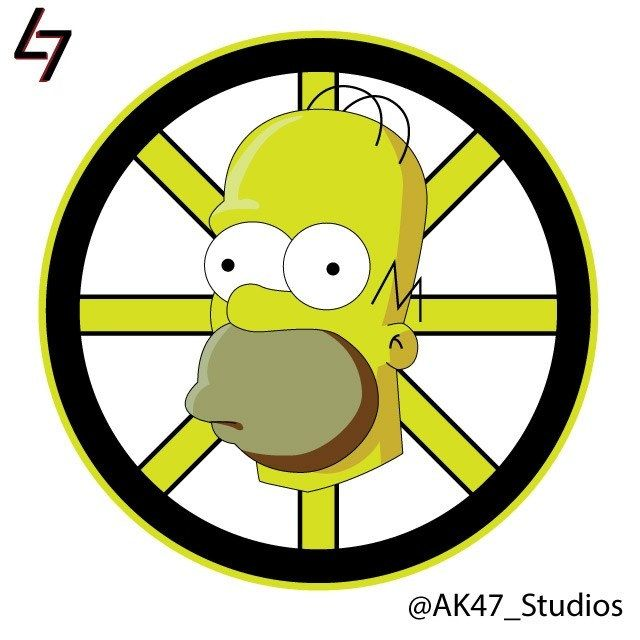 Cool Hockey Team Logo - NHL Team Logos Inspired by THE SIMPSONS — GeekTyrant