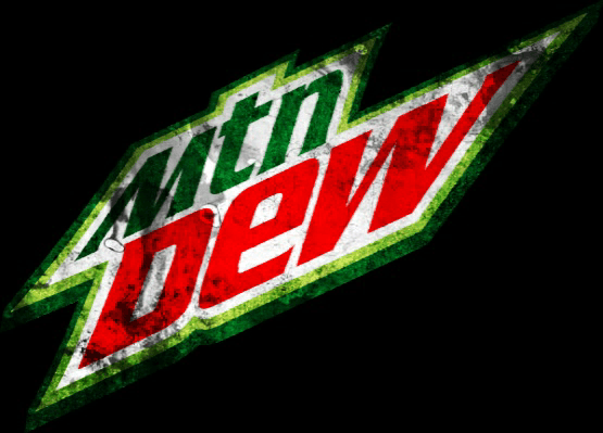 Mountain Dew Logo - Mountain Dew Logo (Grunge) by flagArtist on DeviantArt